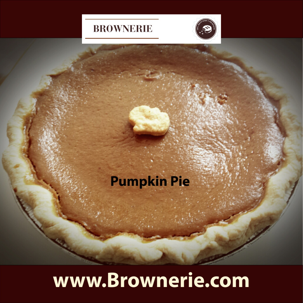 Pumpkin Pie Brownerie