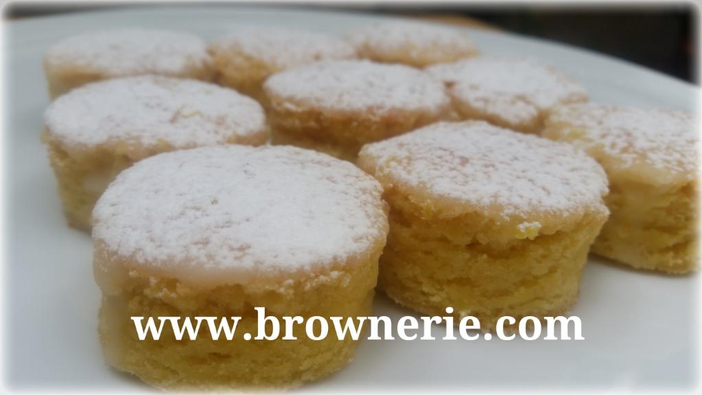 Deliciosos Brownies de Limón